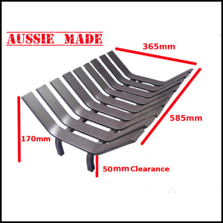 Fireplace grate 585mm ms 800