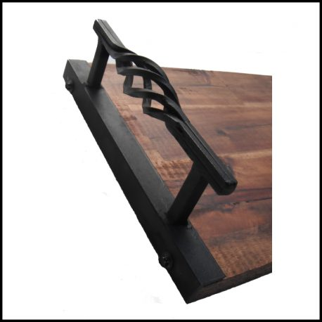wrought iron serving tray 4